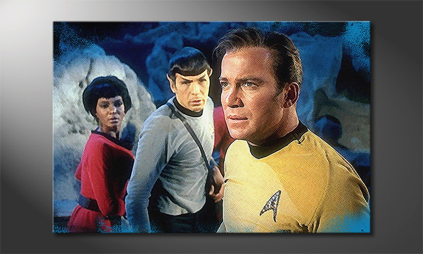 Das Wandbild Star Trek Enterprise 120x80x2cm
