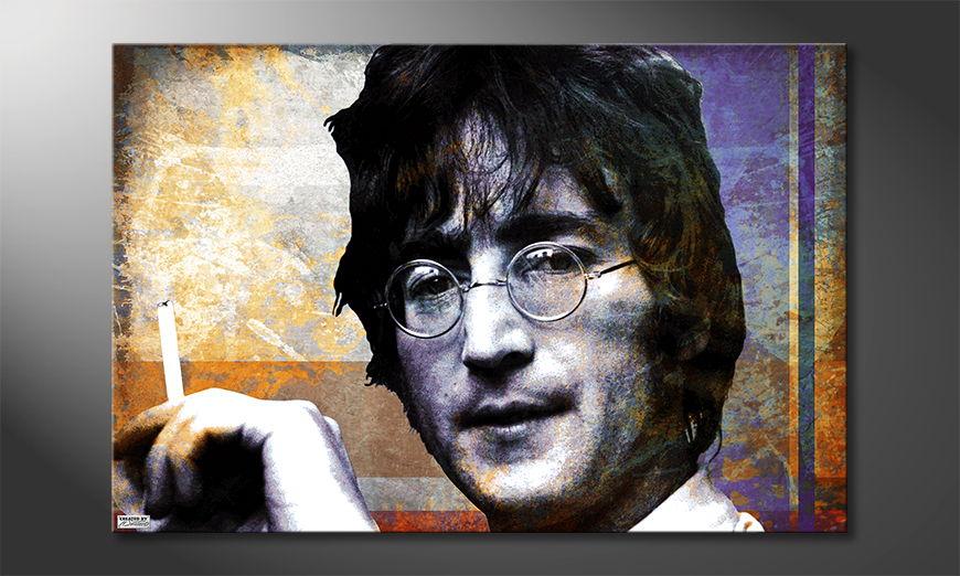 Das Wohnzimmerbild Lennon