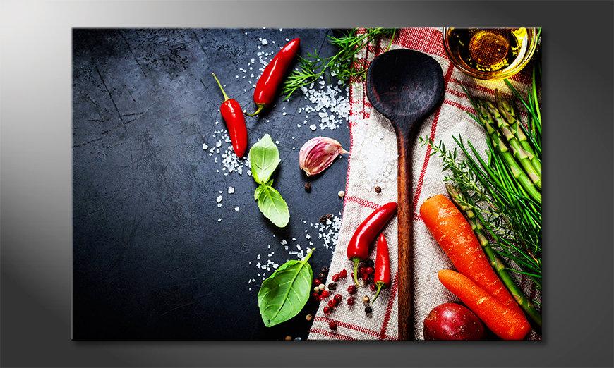 Das exklusive Bild Cooking Pleasure