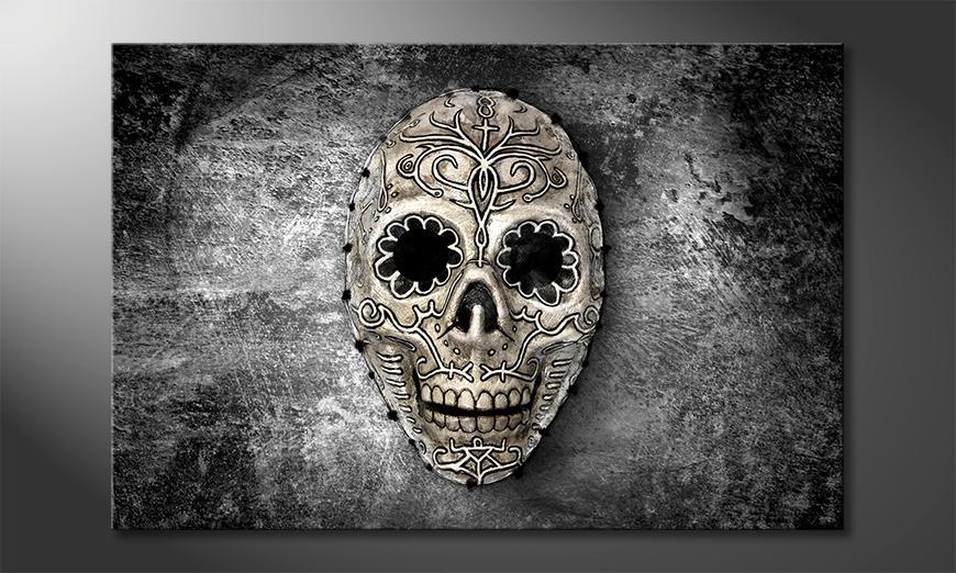 Das exklusive Bild Monochrome Skull