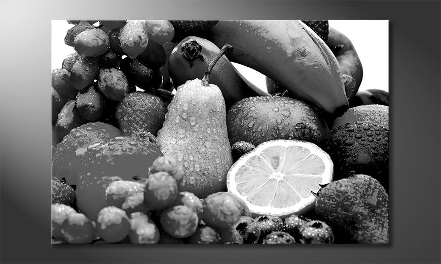 Das gedruckte Bild Fruits