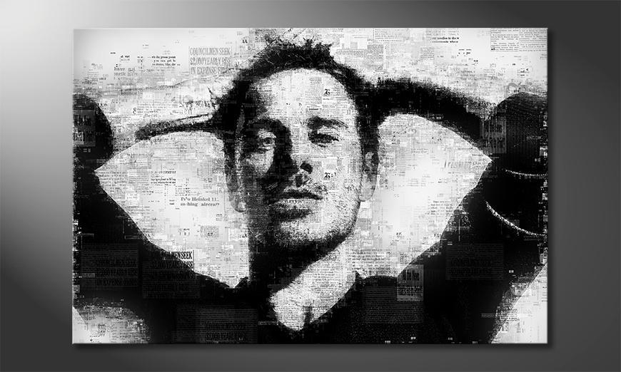 Das gedruckte Bild Michael