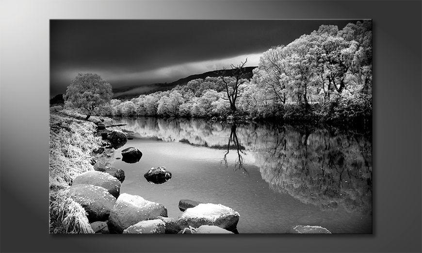 Das gedruckte Bild Mystic River