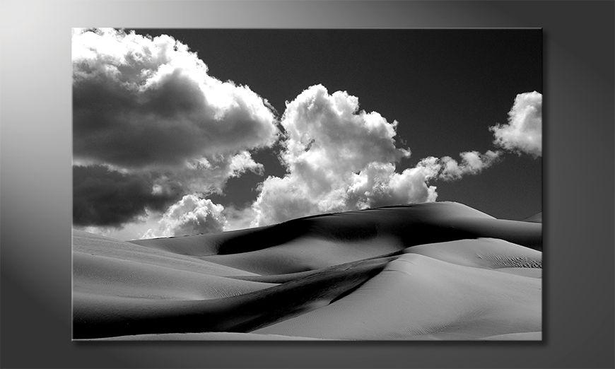 Das gedruckte Bild Sand Dunes