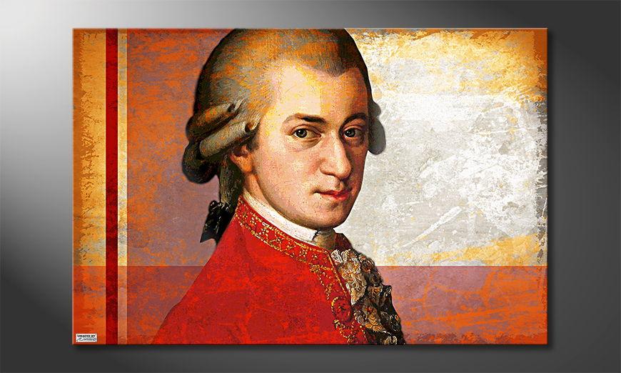 Das klasse Wandbild Mozart