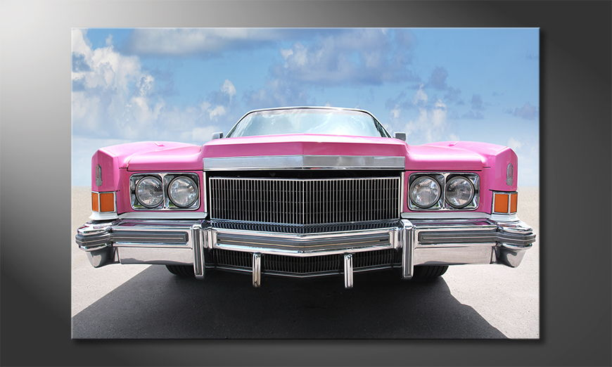 Das kultige Bild Pink Cadillac
