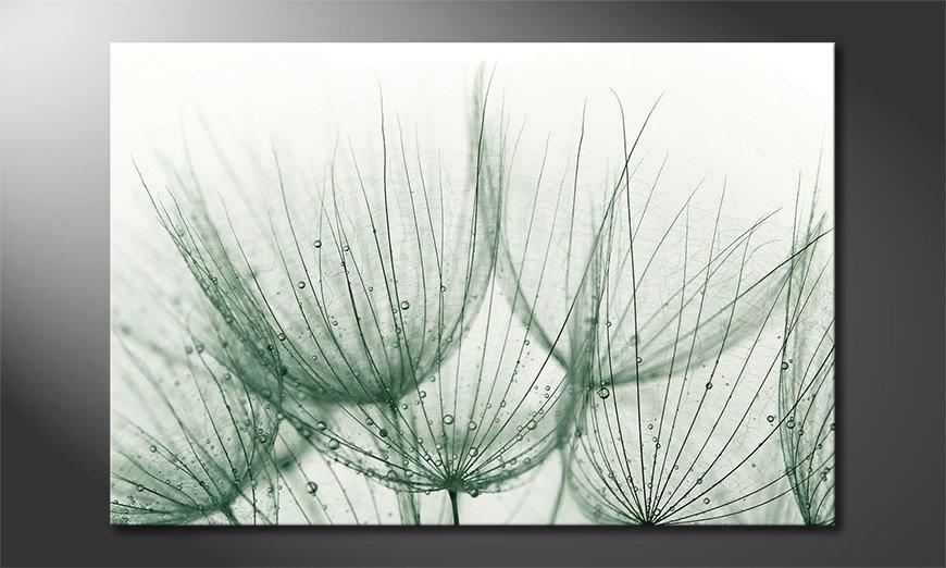 Das moderne Bild Dandelion Detail