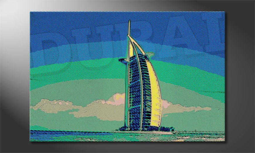 Das moderne Bild Dubai in 6 Größen