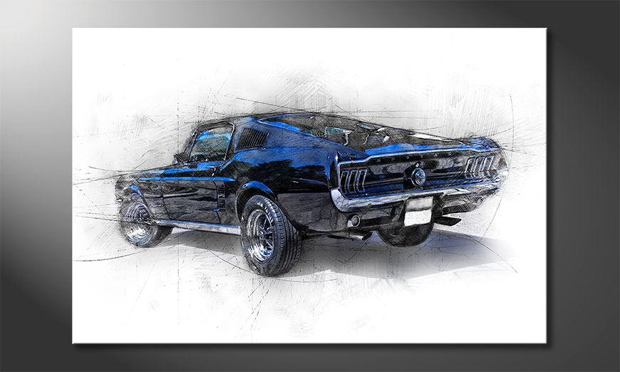 Das moderne Bild Pure Mustang