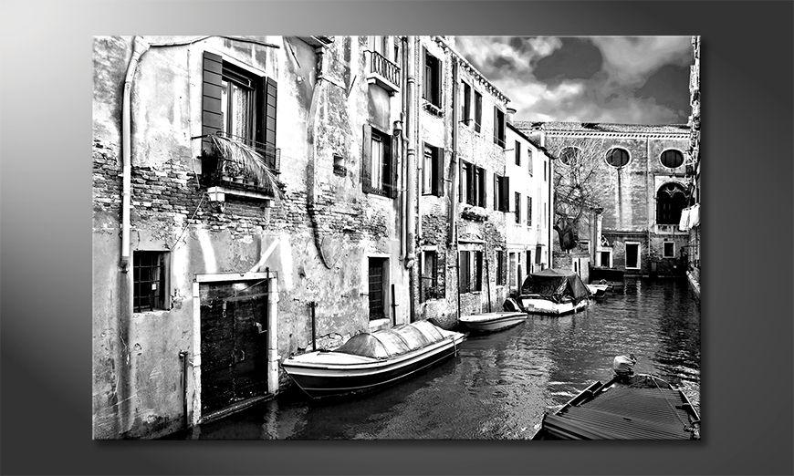 Das moderne Leinwandbild Beautiful Venice