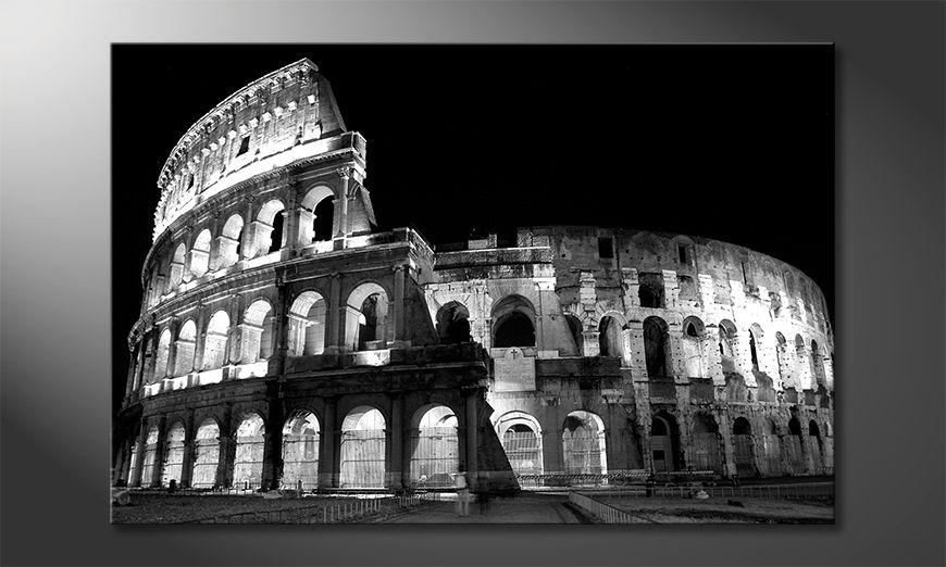 Das moderne Leinwandbild Colosseum