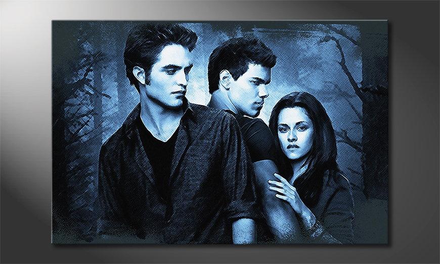 Das moderne Leinwandbild Twilight