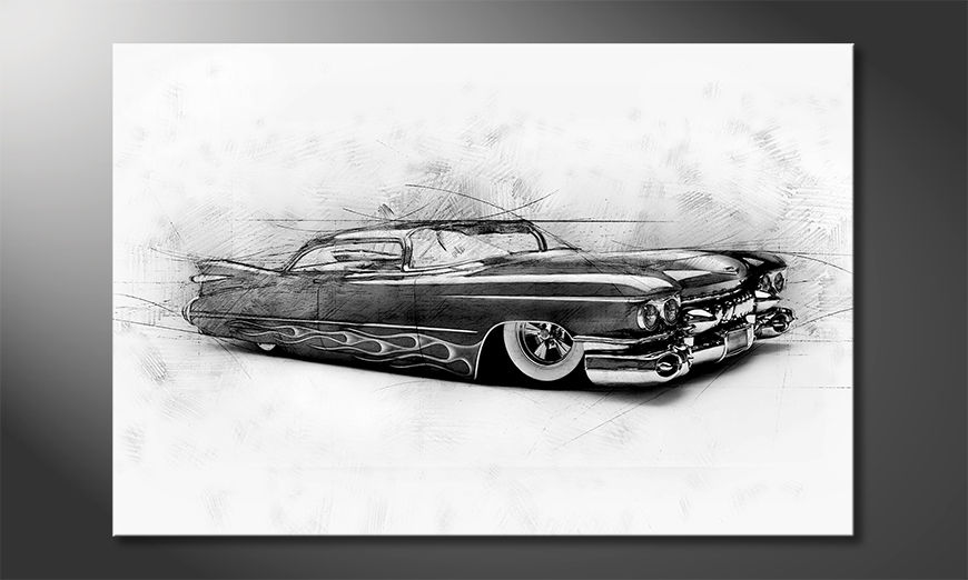 Das moderne Wandbild Beauty Cadillac