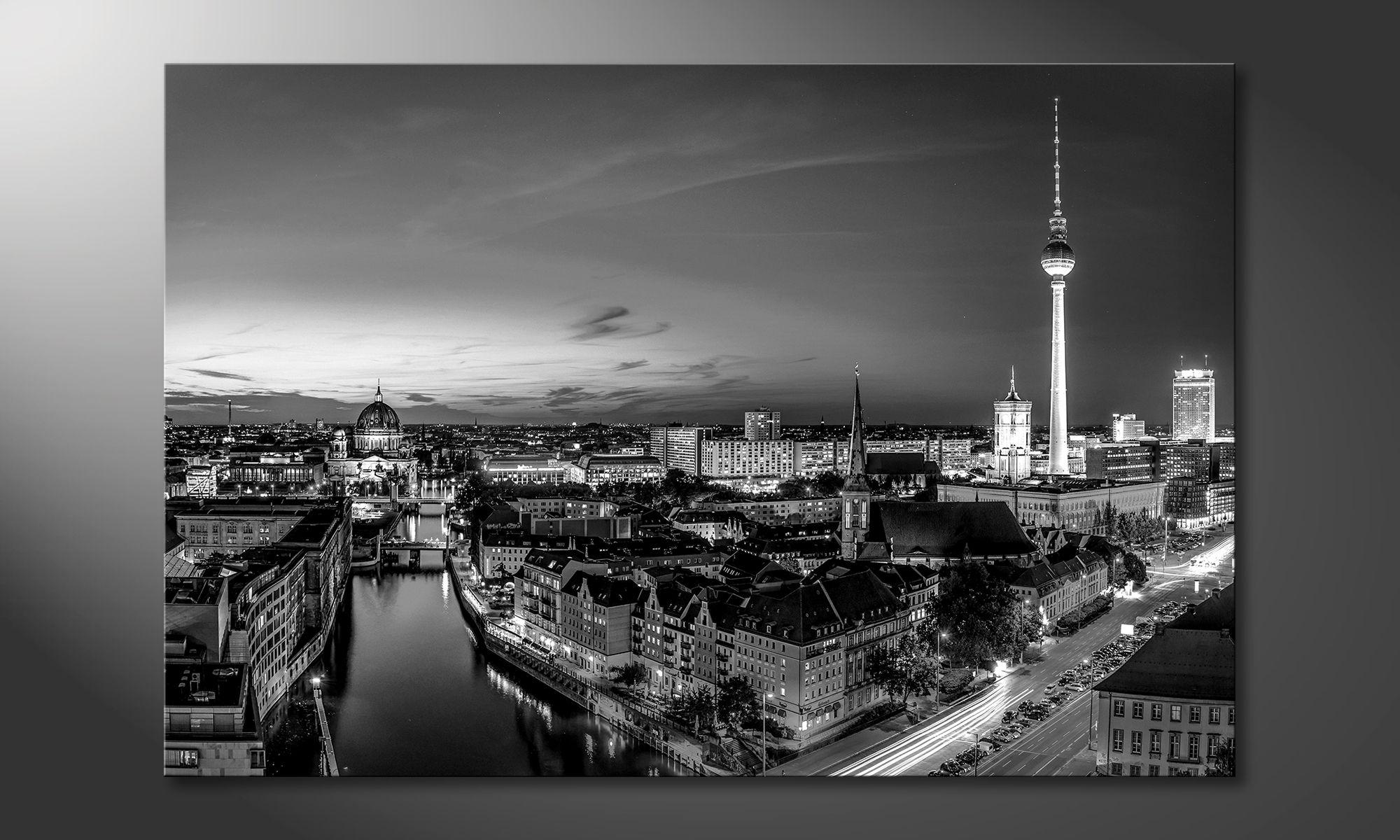 Das Moderne Wandbild Berlin City