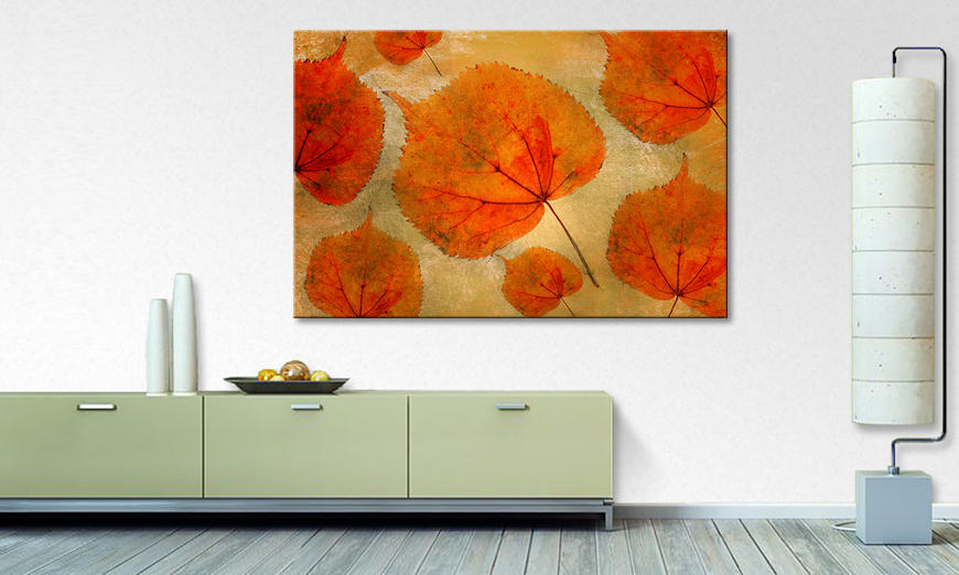 Das moderne Wandbild Colorful Fall