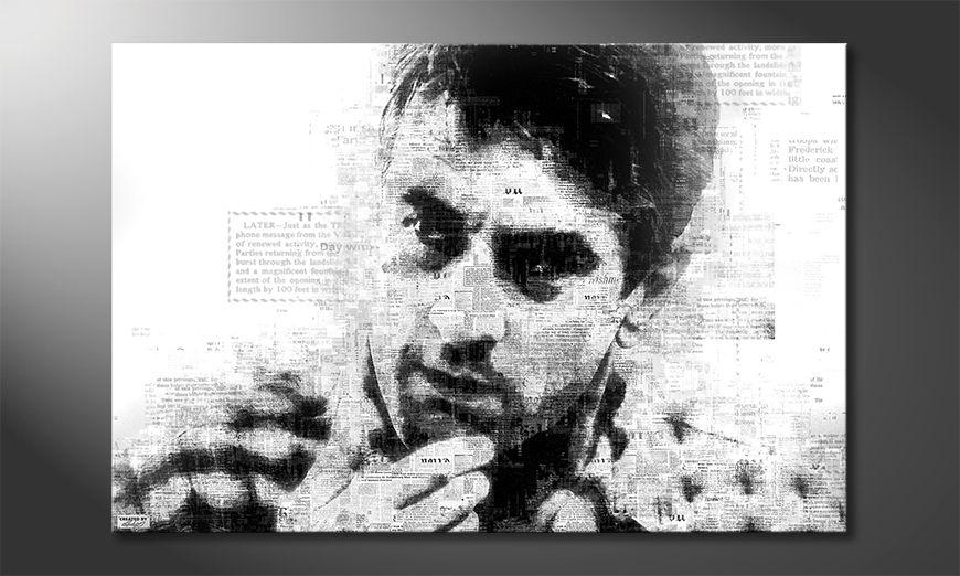 Das moderne Wandbild De Niro