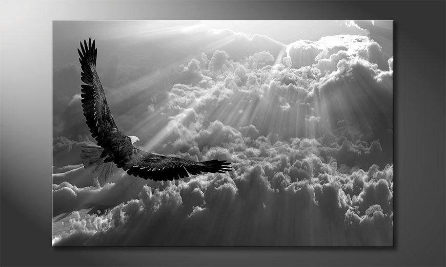 Das moderne Wandbild Eagle In Flight