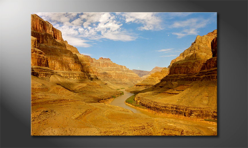 Das-moderne-Wandbild-Grand-Canyon