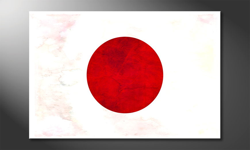 Das moderne Wandbild Japan