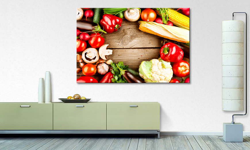 Das moderne Wandbild Kitchen Friends
