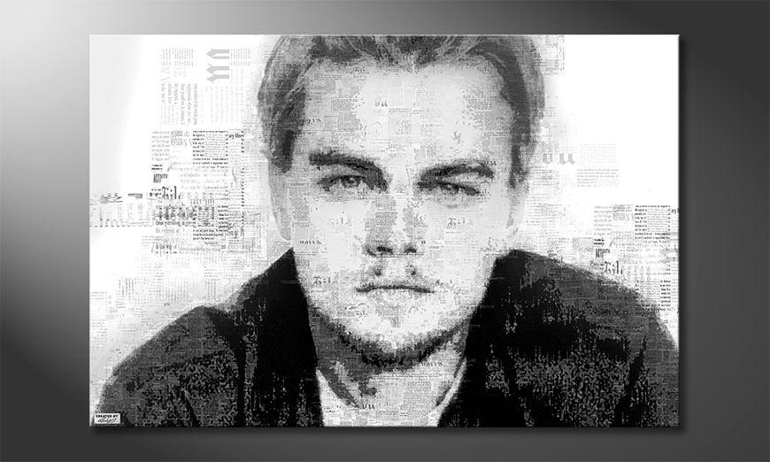 Das moderne Wandbild Leonardo