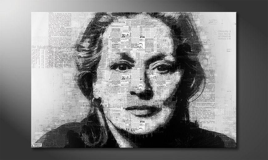 Das moderne Wandbild Meryl