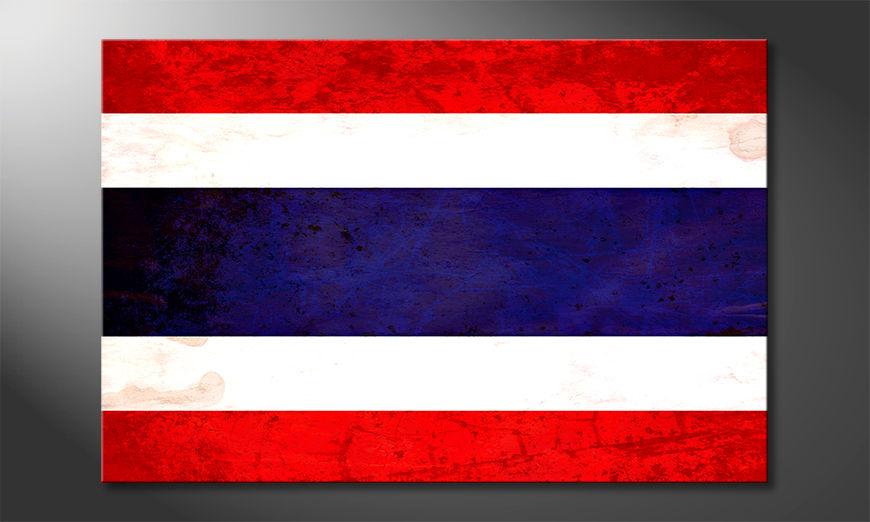 Das moderne Wandbild Thailand
