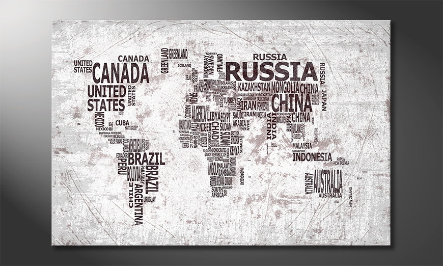 wandbild weltkarte Das moderne Wandbild Weltkarte Nr22 wandbild weltkarte