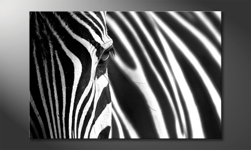 Das schöne Bild Animal Stripes