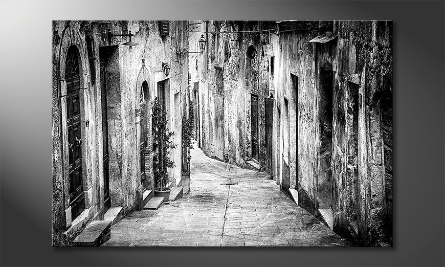 Das schöne Bild Charming Old Streets