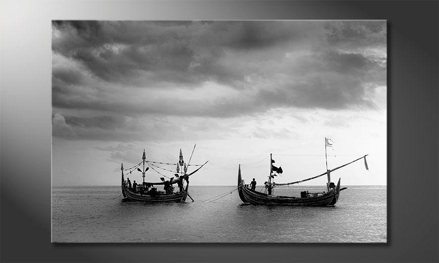 Das schöne Bild Fishing Boats