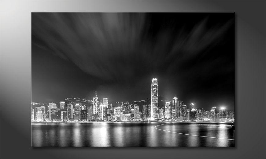 Das schöne Bild Hongkong At Night
