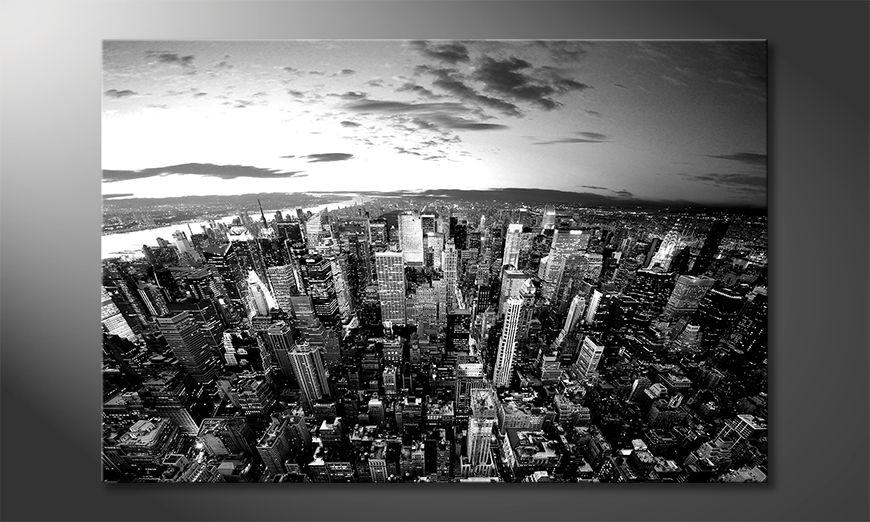Das schöne Bild New York Sky
