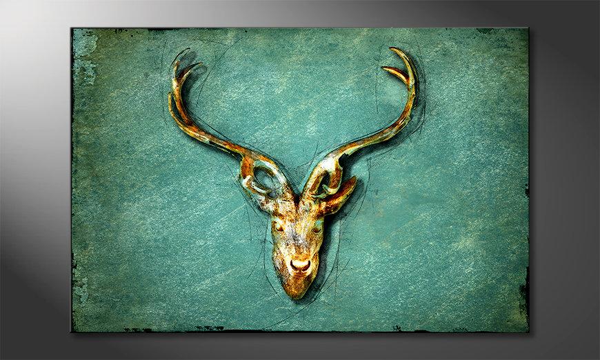 Das schöne Bild The Deer