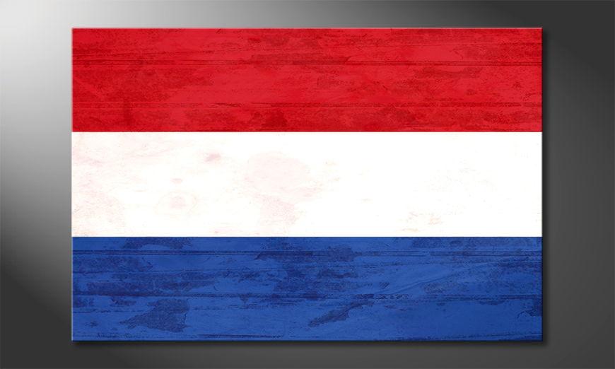 Leinwanddruck auf Rahmen: Niederlande