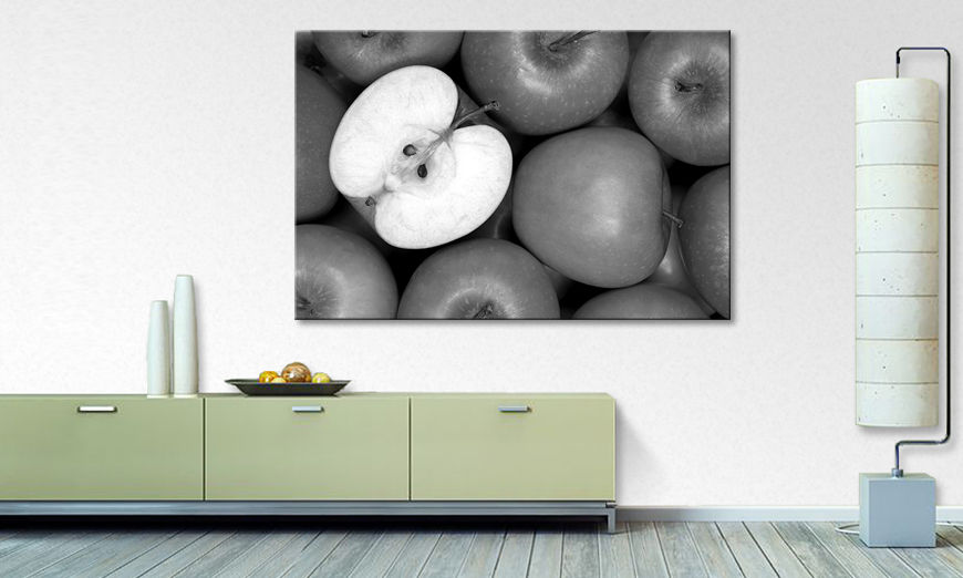 Moderne Wanddekoration Apples