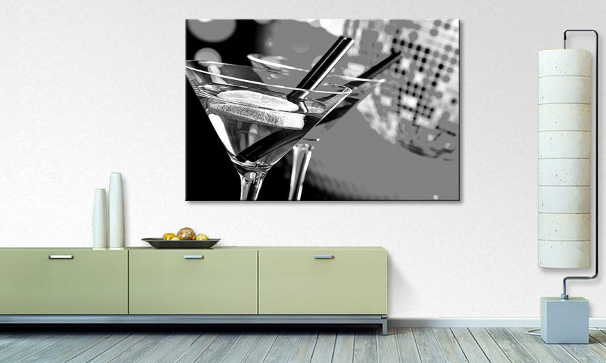 Moderne Wanddekoration Cocktails