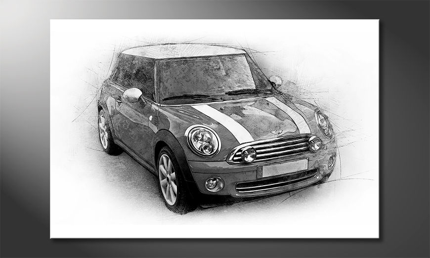 Moderne Wanddekoration Great Mini