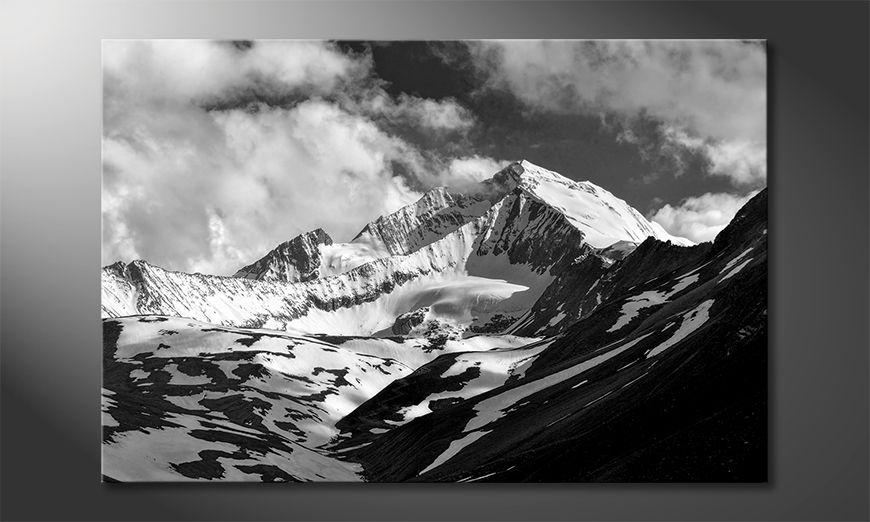 Moderne Wanddekoration Himalaya