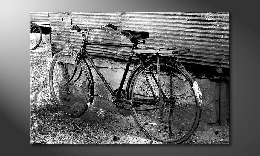 Moderne Wanddekoration Old Bike