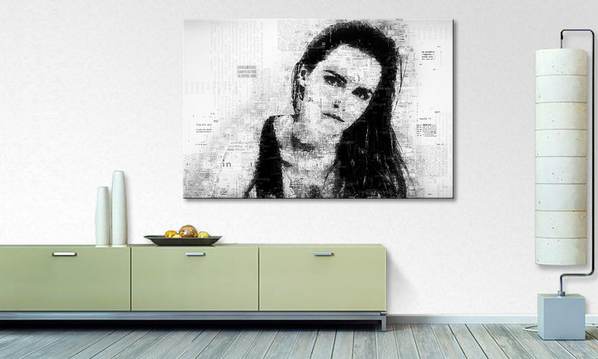 The exclusive art print Emma W