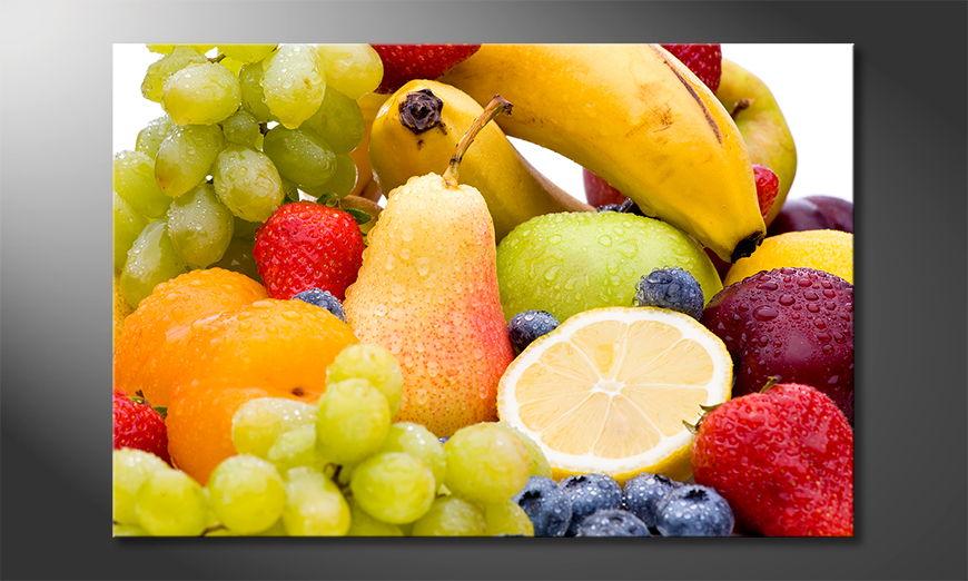 Unser Wandbild Fruits