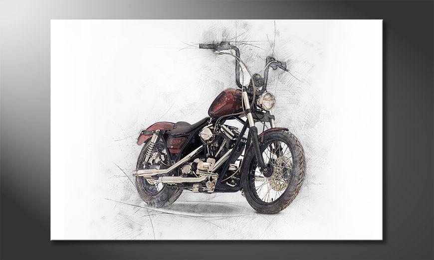 Unser Wandbild Motorbike in 6 Größen