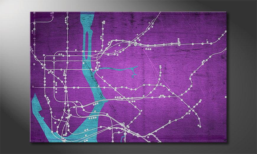 Unser Wandbild New York Metro