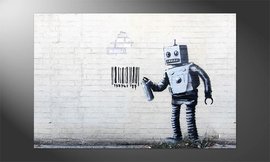 Das Premium Poster Banksy No12