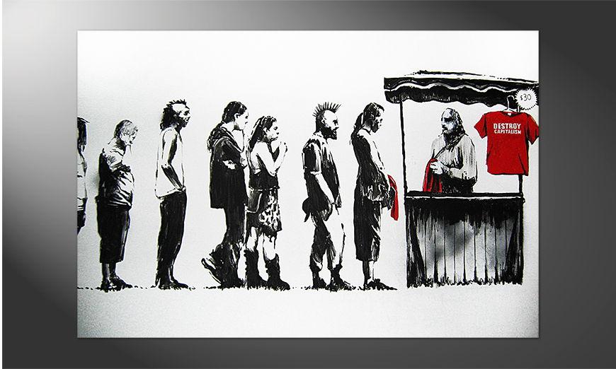 Das Premium Poster Banksy No6