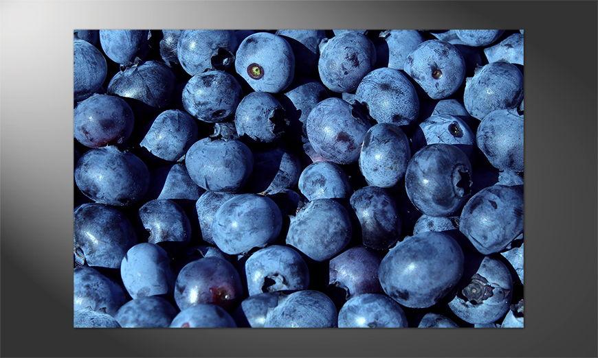 Das Premium Poster Blueberry