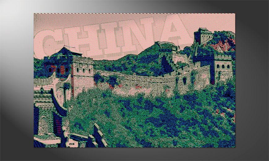 Das Premium Poster Chinesische Mauer