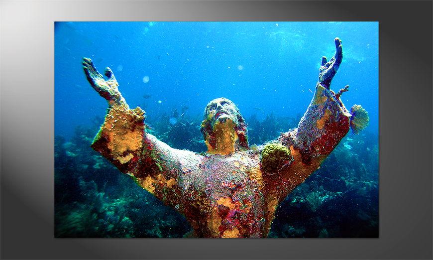 Das Premium Poster Christ Of Abyss