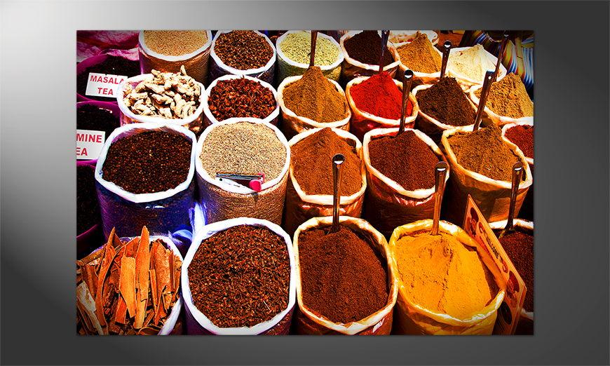 Das Premium Poster Colorful Spices